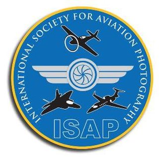International Society for Aviation Photography - ISAP patch