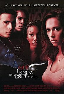 <i>I Still Know What You Did Last Summer</i> 1998 American-Mexican co-production film by Danny Cannon