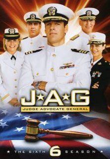 <i>JAG</i> (season 6) Season of television series