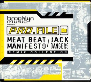 Pro.File 1 Meat Beat Manifesto/Jack Dangers Remix Collection - Image: Jack Dangers Pro File 1CDCover
