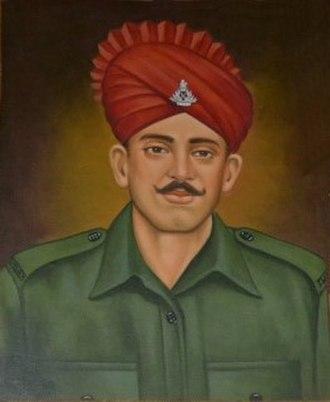 Jadunath Singh - Image: Jadunath Singh PVC