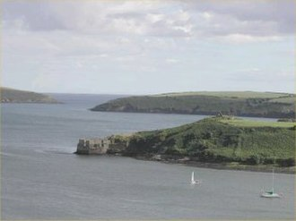 Castlepark - Image: James Fort Blockhouse Kinsale