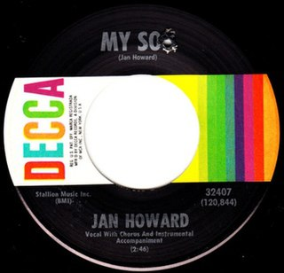 My Son (song) 1968 single by Jan Howard