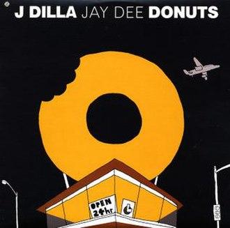 Donuts (album) - Image: Jdilla donuts alt L Pcover