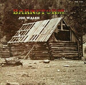 Barnstorm (album) - Image: Joe Walsh Barnstorm