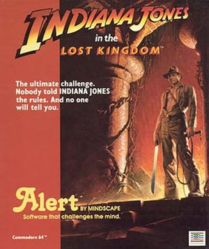 Indiana Jones in the Lost Kingdom - Cover art