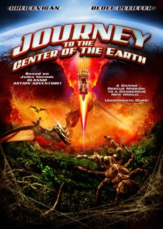 Journey to the Center of the Earth (2008 direct-to-video film) - Home video cover