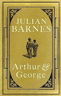 <i>Arthur & George</i> book by Julian Barnes