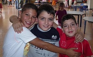 Hand in Hand: Center for Jewish-Arab Education in Israel - Students from Hand in Hand's Galilee School