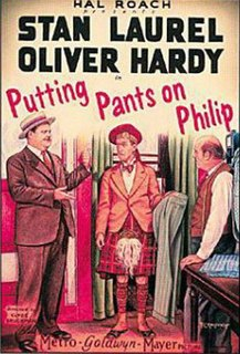 <i>Putting Pants on Philip</i> 1927 silent comedy short film by Clyde Bruckman