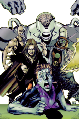 Fatal Five - Image: LEGION OF SUPER HEROES 120