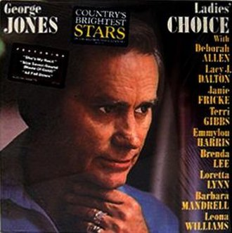 Ladies' Choice (George Jones album) - Image: Ladies Choice