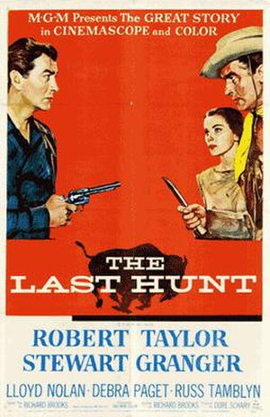 The Last Hunt - Theatrical Film Poster