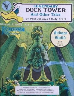 <i>Legendary Duck Tower</i> Tabletop fantasy role-playing game supplement