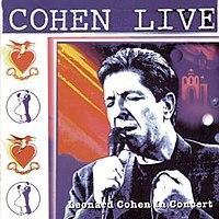 Cohen Live cover