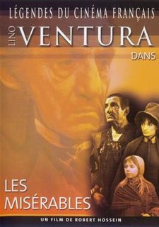 <i>Les Misérables</i> (1982 film) 1982 French film based on the novel of the same name directed by Robert Hossein