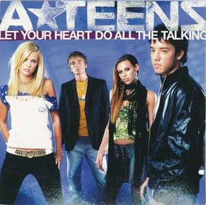Let Your Heart Do All the Talking - Image: Let your heart cd promo sweden 04