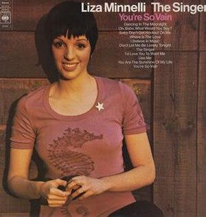 The Singer (Liza Minnelli album) - Image: Lizathesinger
