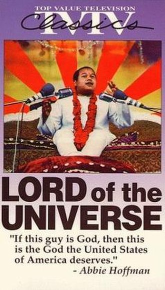 Lord of the Universe - Image: Lord of the Universe video cover