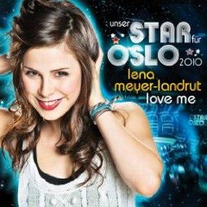Love Me (Lena Meyer-Landrut song) - Image: Love Me Meyer Landrut