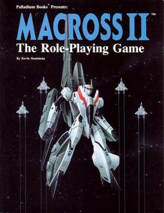 Macross II: The Role-Playing Game - Image: Macross II RPG 1993