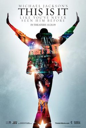 Michael Jackson's This Is It - Theatrical release poster