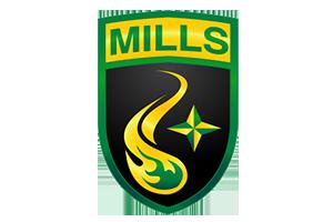 Mills University Studies High School - Image: Mills University Studies High School logo