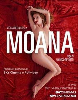 <i>Moana</i> (miniseries) 2009 Italian film