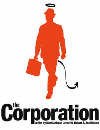 The Corporation (2003 film) - Theatrical release poster