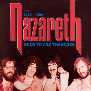 Back to the Trenches - Image: Nazareth back to the trenches