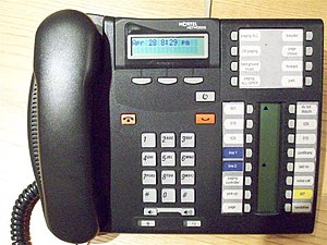 Business telephone system - Nortel T Series Key System Telephone