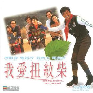 Now You See Love, Now You Don't - VCD cover