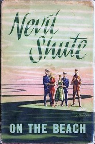 On the Beach (novel) - First edition cover