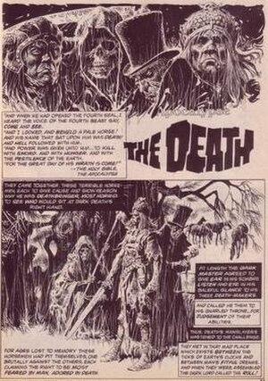 José Ortiz (comics) - Image: Ortiz apocalype