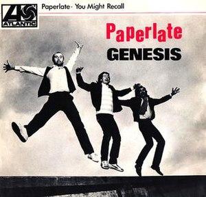 Paperlate - Image: Paperlate