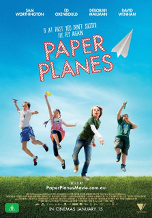 <i>Paper Planes</i> (film) 2015 film by Robert Connolly