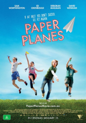 Paper Planes (film) - Australian theatrical release poster