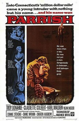 Parrish (film) - Theatrical release poster