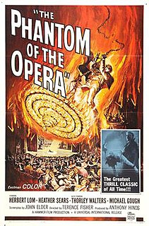1962 film by Terence Fisher