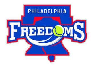 Philadelphia Freedoms - Freedoms logo 2010-2012