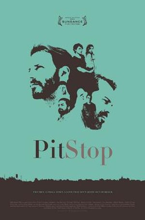 Pit Stop (2013 film) - Theatrical release poster