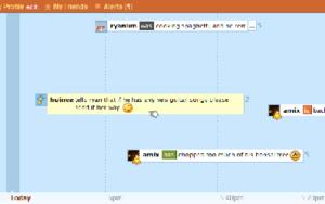 Plurk - Image: Plurk screenshot