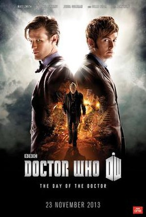 The Day of the Doctor - Image: Poster Day of the Doctor