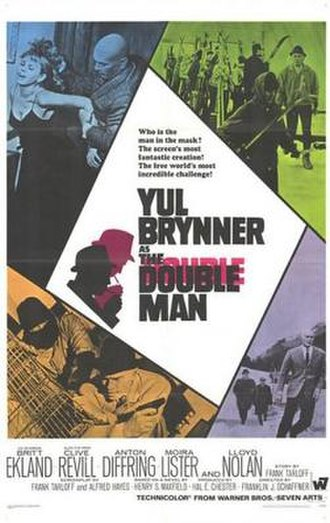 The Double Man (1967 film) - Image: Poster of The Double Man (1967 film)
