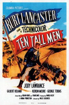 Poster of the movie Ten Tall Men.jpg