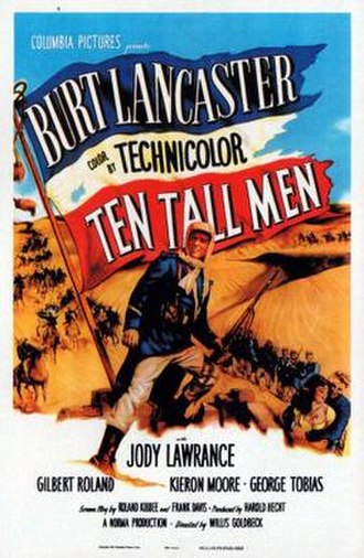 Ten Tall Men - Film poster