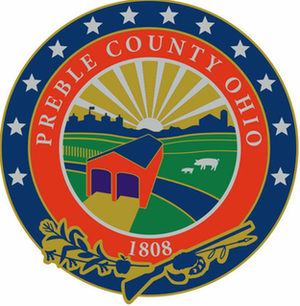 Preble County, Ohio - Image: Preble County Ohio Seal