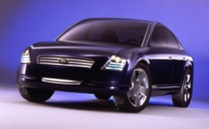 Ford Five Hundred - 2000 Ford Prodigy diesel-electric concept, which partly influenced the body design of the Five Hundred/Montego