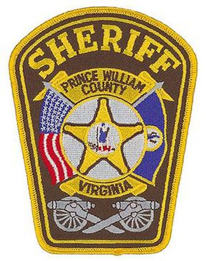 Prince William County Sheriff's Office - Image: Pwcsd patch 2
