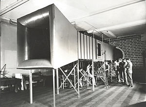 History of Queen Mary University of London - The ground-breaking wind tunnel built in the first ever Aeronautical department in the UK.